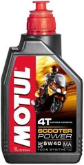 Масло Motul SCOOTER POWER 4T SAE 5W40 MA, 1 лiтр, (832001, 105958)