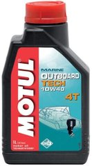 Масло Motul OUTBOARD TECH 4T SAE 10W40, 1 лiтр, (852211, 106397)