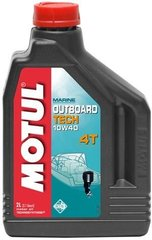 Масло Motul OUTBOARD TECH 4T SAE 10W40, 2 лiтра, (852221, 106368)