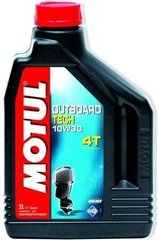 Масло Motul OUTBOARD TECH 4T SAE 10W30, 2 лiтра, (852121, 106446)
