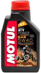 Масло Motul ATV POWER 4T 5W40, 1 лiтр, (850601, 105897)