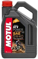 Масло Motul ATV POWER 4T 5W40, 4 лiтра, (850641, 105898)