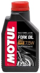 Масло вилкове Motul FORK OIL LIGHT MEDIUM  FACTORY LINE SAE 7,5W, 1 лiтр, (821701, 105926)
