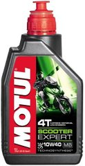 Масло Motul SCOOTER EXPERT 4T SAE 10W40 MB, 1 лiтр (831701, 105935)