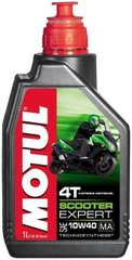 Масло Motul SCOOTER EXPERT 4T SAE 10W40 MA, 1 лiтр, (831901, 105960)