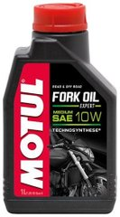 Масло вилкове Motul FORK OIL EXPERT MEDIUM SAE 10W, 1 лiтр, (822201, 105930)